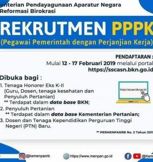 PENGUMUMAN SELEKSI PENGADAAN P3K KAB. LUWU UTARA TAHAP I TAHUN 2019