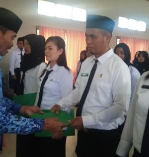 Penutupan Kegiatan Pendidikan dan Pelatihan Prajabatan Golongan II Lingkup Kabupaten Luwu Utara